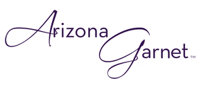Arizona Anthill Garnet Gold Jewelry Logo