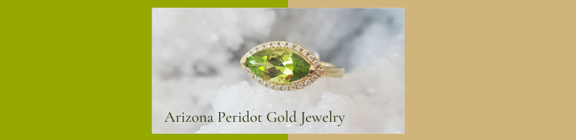 Arizona Peridot Gold Jewelry