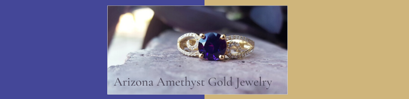 Sami Fine Jewelry  Arizona Amethyst™ Gold Jewelry