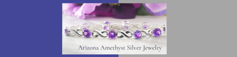 Sami Fine Jewelry Arizona Amethyst™ Silver Jewelry