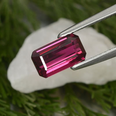 Fine Ruby Sources Octagonal Step Cut Ruby